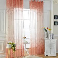 Orange Curtains For Living Room Aliexpress Com Buy Purple Green Blue Orange Curtain Fabric