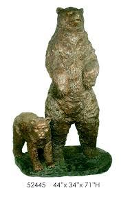 bronze bears bronze discount statues u0026 fountains