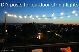 post to hang string lights post to hang string lights poles for outdoor globe string lights on