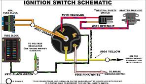 universal tractor ignition switch wiring diagram wiring wiring