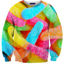 gummy clothes gummy worm sweater future sweatshirt and clothes