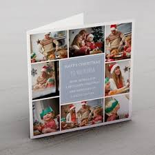 personalised christmas cards card factory