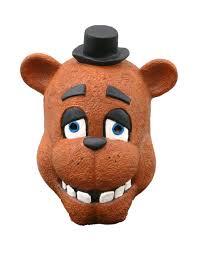 bear halloween mask freddy fazbear costume gallery five nights at freddy s masks by