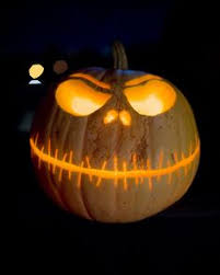 Funny Halloween Pumpkin Designs - need to remember this make that carving last spray a mixture of