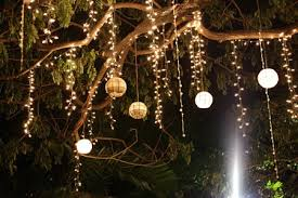 Outdoor Hanging Lights For Trees Hanging Lights From Trees And Best 25 Outdoor Tree Lighting Ideas