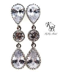 prom jewelry wedding earrings cubic zirconia earrings prom jewelry wedding