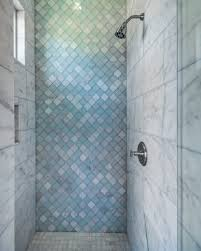 Peacock Home Decor Sale Bathroom Fashionable Light Blue Glass Tile With For Shower Wall
