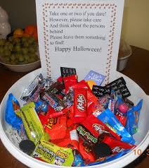 Halloween Poems Kindergarten Halloween Candy Bowl Basics