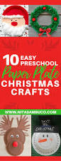 10 easy preschool paper plate christmas crafts nita sambuco
