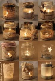 How To Use Mason Jars For Decorating Un Pot En Verre 12 Possibilités Craft Glass And Decoration