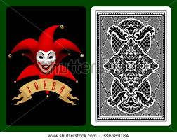 Playing Card Design Template Joker Stock Images Royalty Free Images U0026 Vectors Shutterstock