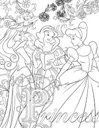 coloriage disney de princesse à imprimer artherapie ca