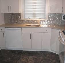 Stainless Steel Circles Backsplash Subway Tile Outlet - Stainless tile backsplash