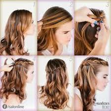 tutorial rambut waterfall resultado de imagen para peinados sencillos y bonitos para fiesta de
