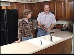 installing a kitchen countertop and sink hgtv