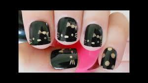 hello kitty nail tutorial youtube