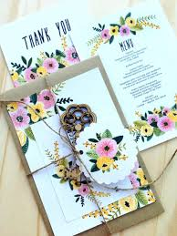 Diy Wedding Menu Cards Printable Wedding Invitation Set Rsvp Thank You Card Wedding