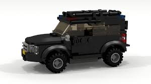 lego city jeep vehicles nissan patrol riot police