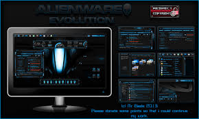 theme download for my pc alienware evolution by mr blade on deviantart