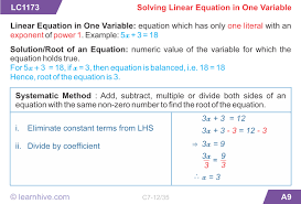 learnhive cbse grade 7 mathematics simple equations lessons