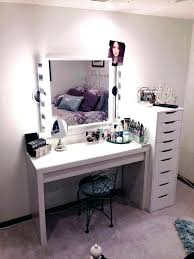makeup desk with mirror makeup desk with lights this vanity table