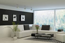 Pictures On The Wall by Black Wall Paint Home Design