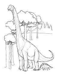 free dinosaur coloring print brandsomasz