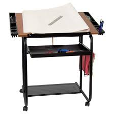 Drafting Table For Architects Adjustable Drawing And Drafting Table Black Flash Furniture Target