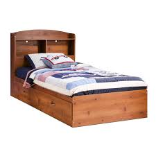 Bedroom Furniture Bookcase Headboard by South Shore Furniture Logik Mates Bed With Bookcase Headboard