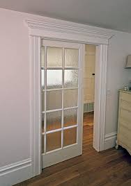 Interior Doors For Homes American Wood Mission Frosted Bi Fold Door 36