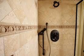 Tuscany Shower Faucet Metal U0026 Glass Wall Tiles Backsplashes Mosaic Tile