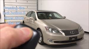 jdm lexus es 350 2011 lexus es350 remote start richmond va youtube
