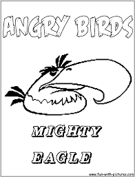 angry birds mighty eagle coloring pages angry birds free coloring