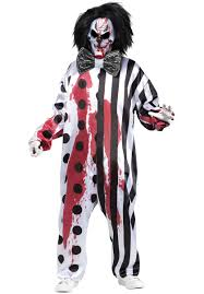 Halloween Costume Sale Uk Bleeding Killer Clown Costume Halloween Costumes At Escapade Uk
