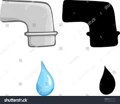 Dripping Water Faucet Water Faucet Vector Instafaucet Us
