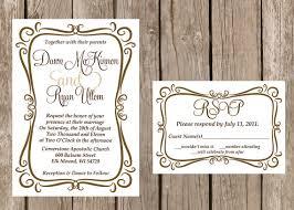 wedding invitation frame modern wedding invitation flourish wedding invitation frame