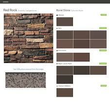 red rock country ledgestone cultured stone boral stone olympic