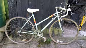 peugeot bike white cycles and frames sold at auction 7th june 2014
