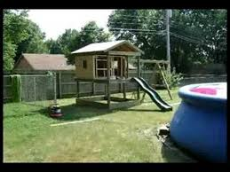 How To Build A Backyard Swing Building A Swing Set Youtube
