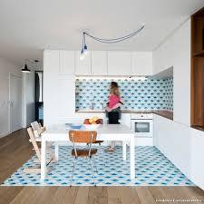 cuisine credence carrelage credence carrelage metro with contemporain cuisine dcoration de de