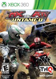 motocross bikes games amazon com mx vs atv untamed xbox 360 artist not provided