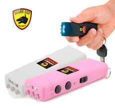 choose color dog hornet 6 million volt rechargeable mini keychain stun gun
