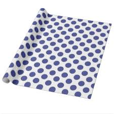 royal blue wrapping paper polka dot royal blue wrapping paper zazzle
