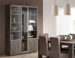 3 Door Display Cabinet Corner Glass Display Cabinet Door Design