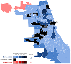 Chicago Wards Map by Chicago Aldermanic Elections 2015 Wikipedia
