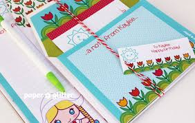 personalized stationery sets new printable kawaii stationery set