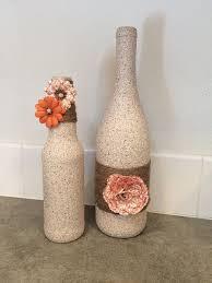Decorative Glass Stones For Vase Best 25 Bottle Vase Ideas On Pinterest Glass Bottle Glass