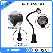 Magnetic Base Work Light Guangdong Flexible Arm Led Gooseneck Work Light With Magnetic Base