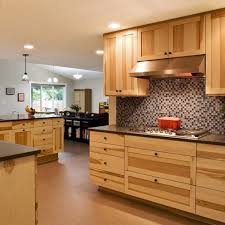 hickory shaker style kitchen cabinets kitchen decoration
