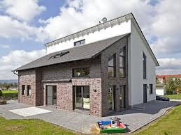 Bau Mein Haus Haus Markus Klinkerfassade Und Putz In Harmonischem Dialog